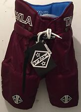 Ice Hockey Sr Pant Tackla Maroon Model 2400, Sizes S, M, M-L, XL