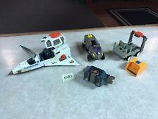 Vintage 1986 Coleco Starcom Vehicles Figure Spaceship Parts Pieces LOT #A280