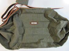 Baggallini Fold-up Travel Tote Shoulder Bag Zip Close Green Orange Adjust Strap