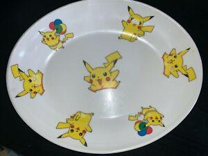 Vintage Pokemon Melamine plate (brand Fataco Melamine wear)