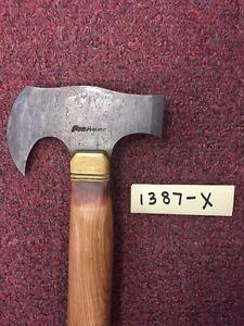 "Pioneer Custom Hand Made Axe,with Brass Bolster 16.5""PT-1387"