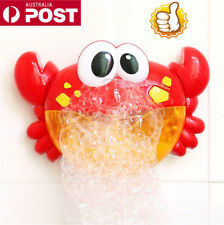 Crab Shape Bubble Automatic Machine Joy Bubble Electric Toy Children's Bathing U