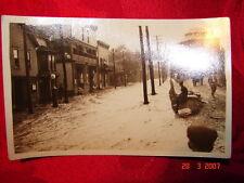 RPPC 1922 Flood Carbondale, Pa Scranton, Pa Wilkes-Barre, Pa  Dundaff Street