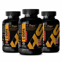Memory booster and focus - L-DOPA 99% EXTRACT 350MG 3B - dopa macuna