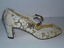 Dolce & Gabbana Embellished Heels **BNIB** Size IT39-UK6