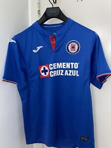 Joma CRUZ AZUL  Official Jersey 100% Authentic Mens Size Medium Blue
