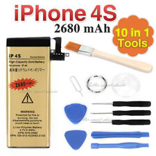 OZ 2680mAh High Capacity Replacement Internal Battery For iPhone 4S Free Tools