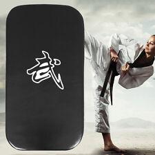 Leather PU Martial Art Taekwondo MMA Boxing Kicking Punching Foot Target Pad JL