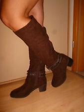 NEUE BRAUNE Stiefel, Gr. 41,  Elegante schicke Stiefel, Damenstiefel, TOP!!!