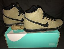 Nike Dunk High Premium SB 313171 202 Sz 10 Brown Bag Filbert/Black-Gum Dark Brwn