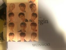 Seventeen An ode Begin version w/ Wonwoo photobook