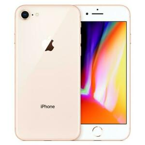 Apple iPhone 8 64GB Factory Unlocked AT&T T-Mobile Gold Smartphone