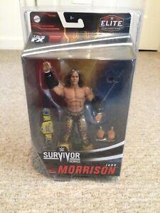 2020 WWE Survivor Series Elite John Morrison In Plastic Case Wrestling Figure