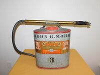 VINTAGE FIRE FIGHTER FIREMAN SMITH INDIAN BACK PACK FIRE EXTINGUISHER NO. 90