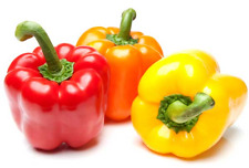 Bell (Sweet) Pepper MIX-50-Seeds* (Red-Green-Yellow) *Hardy Variety For UK