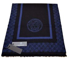 Gianni Versace Collection Men 100% Wool Scarf Shawl One Size Made in Italy + BOX