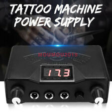 Fashion Tattoo Digital LCD Dual Power Supply for Liner & Shader Gun LCD Machine