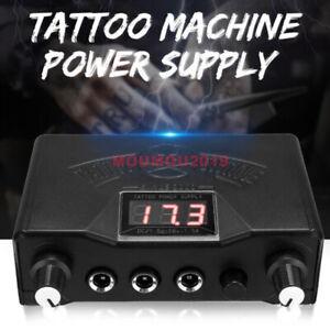 Fashion Tattoo Digital LCD Dual Power Supply for Liner & Shader Gun LCD Machine