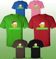 Ugly Christmas Shirt Graphic Design Santa Claus Holiday Xmas Gift Funny T-shirt