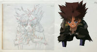 IRIA Zeiram The Animation Original Production Cel with Matching Drawing of KEI