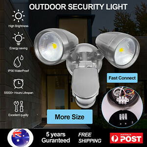 15W 30W Outdoor Security Sensor Light LED Spotlight Floodlight Garage IP56 5000K
