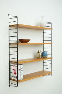 50er 60er Original Nisse Stringregal String Regal Wandregal Wall Shelf 50s 60s