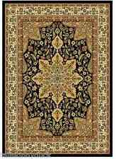 """**NEW**  Home Dynamix Royalty Traditional Area / Runner Rug, Black, 21"""" X 86"""""""