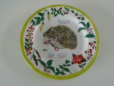 NATHALIE LETE Anthropology Hedgehog Dinner Plate