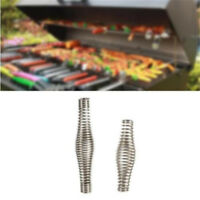 Outdoor Stainless Steel Handle Springs Oven Elasticity Metal Roll Pit Grill WE