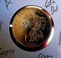 Morgan Silver Dollar 1921 D GEM BU PL FROSTY WHITE BLAZER ULTRA RARE DATE