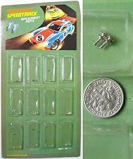 2pc 1979 Matchbox SPEED TRACK HO Slot Car GUIDE PINS #143049 Rare Factory Parts!