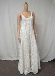 LoveShackFancy Women's US 4 Shoshana Bridal Dress White