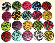 Animal Print Patterns POCKET MIRRORS x 20 Bulk Wholesale Lot resale markets