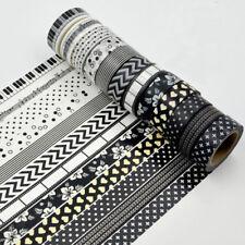 12 PCS 1.5cm×10M DIY paper Sticky Adhesive Sticker Decorative Washi Tape