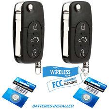 2 Car Key Fob Remote For 1998 1999 200 2001 Volkswagen Beetle Golf Jetta Passat