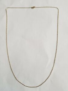 Ladies 9ct gold Necklace Chain