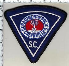Greenville Police (South Carolina) Shoulder Patch
