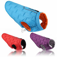 Waterproof Small Medium Large Big Pet Dog Clothes Winter Warm Vest Jacket Coats