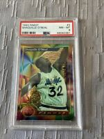shaquille o'neal 1993 Finest Rookie #3 PSA 8 Lakers Legend 🔥