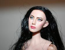 "BLACK HAIR KUMIK REPAINTED HEAD CY COOL GIRL PHICEN SIZE 1/6 12"" FEMALE ACTION"