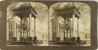 Italia Roma Basilique st. Paul L Altare, Foto Stereo Analogica PL60L10