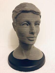 3D sculpture puzzle The Eternal Woman- Assembled No Box