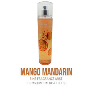 Bath & Body Works MANGO MANDARIN Body Mist With Fine Fragrance - New Collection