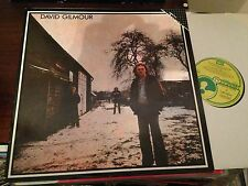 "DAVID GILMOUR PINK FLOYD 12"" LP SPAIN EMI 1985 REISSUE FAMA EDITION PROG ROCK"