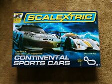 Scalextric ~Continental Sports Cars ~Large Set ~1:32 Scale ~ Brand New