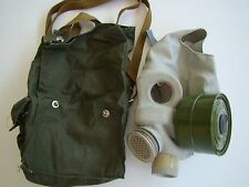 USSR CCCP SOVIET RUSSIAN CBR CHEMICAL BIOLOGICAL MASK SET BELOW COST GIVE- A-WAY