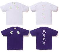 *[S-XXL] 2019 S/S A BATHING APE Men's SAKURA SOUVENIR TEE 2colors From Japan New