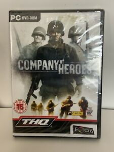 Pc DVD Rom  War Game Company Of Hero's New And Sealed