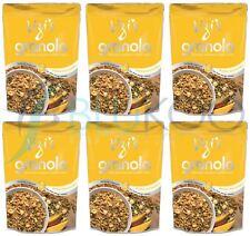 LIZI'S MANGO Macadamia des céréales pour petit déjeuner - 400 g (Pack de 6)