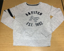 Women's Abercrombie And Fitch Lightweight Sweatshirt Size XS Grey/Blue Speckled